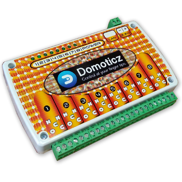 DOMOTICZ LAN Ethernet IP 8 channels Relay board WEB BOX | eBay