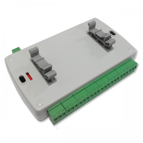 Details about DOMOTICZ LAN Ethernet 8 channels WEB Relay board with clips  for DIN mount rail