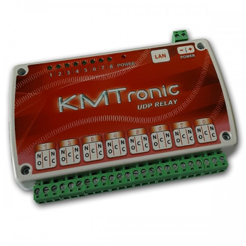 UDP LAN Ethernet IP Eight channels Relay Controller