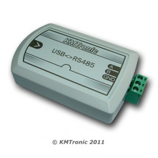 USB to RS485 FTDI Interface Converter with clips for DIN mount rail