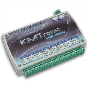 USB Relay Controller - Eight Channel (FTDI) 12V