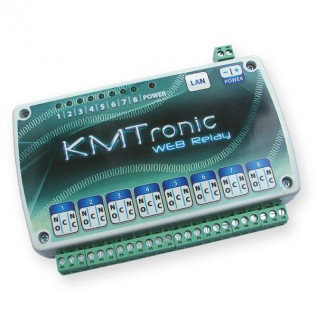 WEB LAN Ethernet IP Eight channels Relay Controller