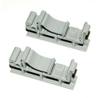 Clips for DIN mount rail