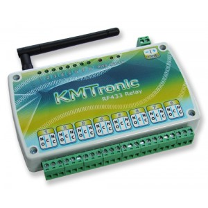 RF433MHz Relay Controller - Eight Channel