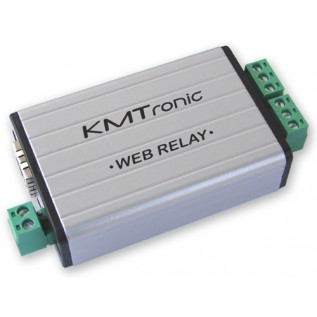 WEB LAN Two channels Relay Ethernet IP Controller - BOX