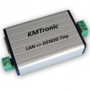 LAN DS18B20 WEB Temperature Monitor
