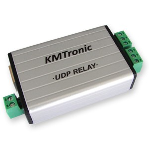 UDP LAN Two channels Relay Ethernet IP Controller - BOX