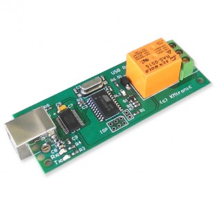 USB Relay Controller - One Channel PCB